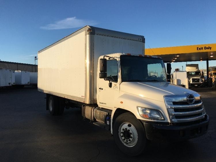 2012 Hino 338 Box Truck - Straight Truck