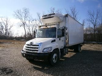 2012 Hino 338 Refrigerated Truck