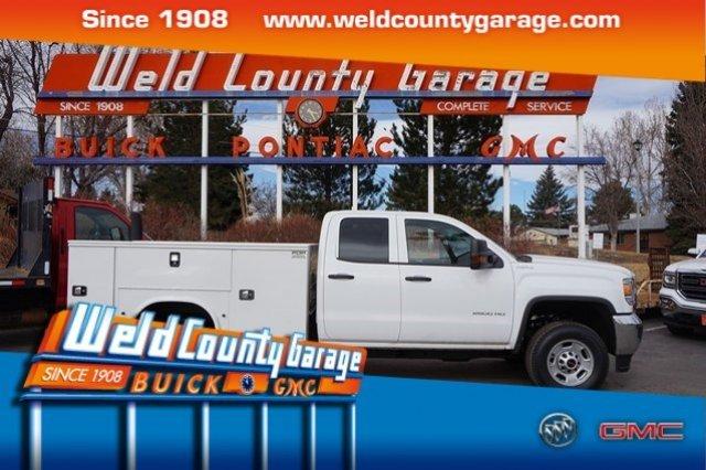 2017 Gmc Sierra 2500 Hd Utility Truck - Service Truck