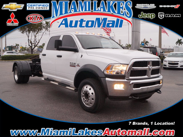 2016 Ram 5500 Chassis Cab  Cab Chassis
