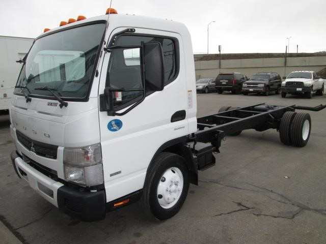 2012 Mitsubishi Fuso Canter Fe160 Cab Chassis