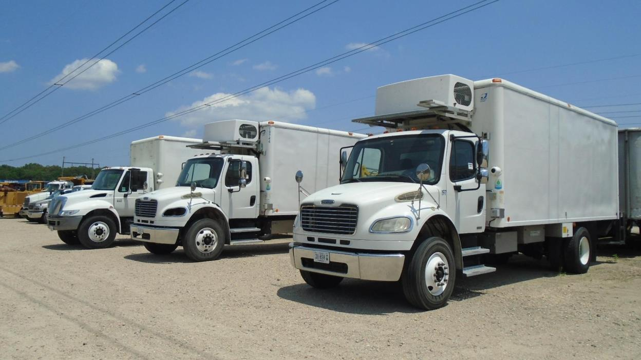 2010 Freightliner Business Class M2 106 Refrigerated Truck