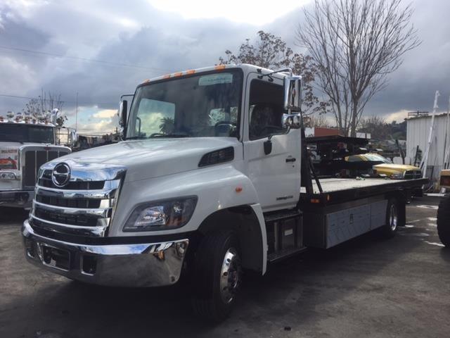 2017 Hino 258  Rollback Tow Truck
