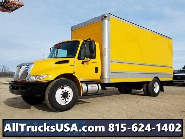 2011 International Durastar 4300 Box Truck - Straight Truck