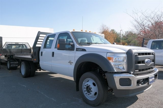 2016 Ford F-550sd Flatbed Truck