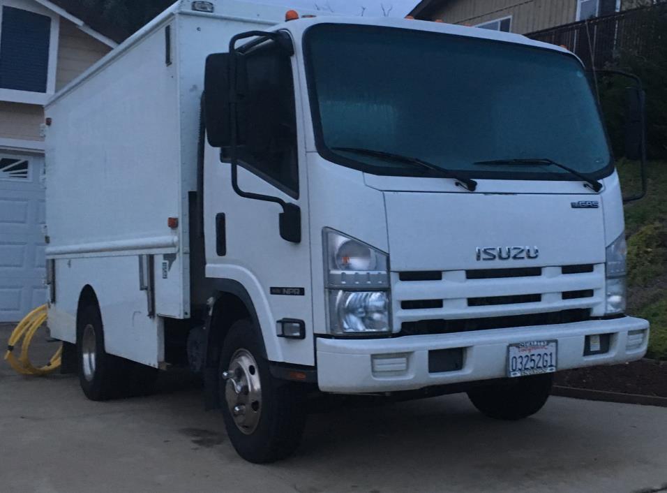2012 Isuzu Npr Plumber Service Truck