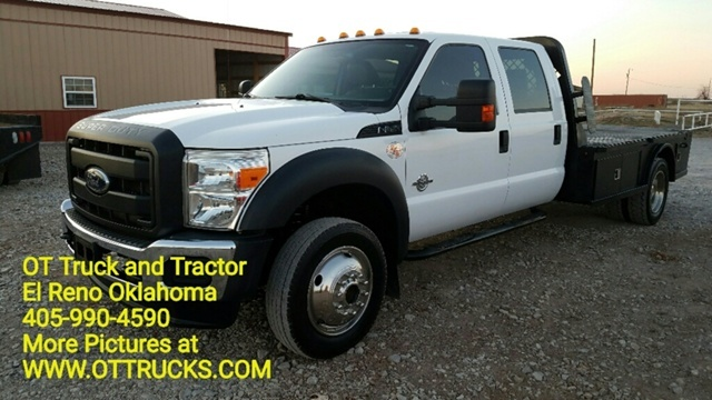 2012 Ford F-550 Chassis  Flatbed Truck