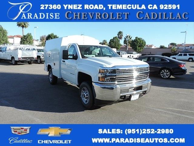 2016 Chevrolet Silverado 2500hd Plumber Service Truck