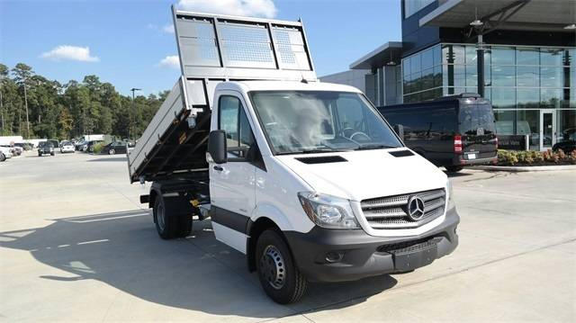 2016 Mercedes-Benz Sprinter 3500 Dump Truck