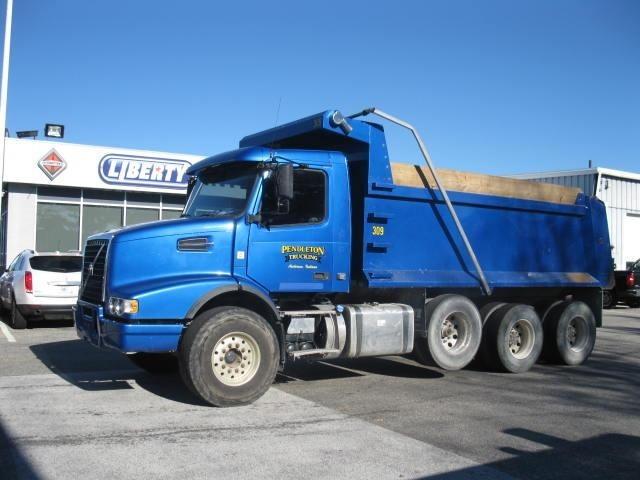 2012 Volvo Vhd104f Dump Truck