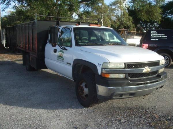 2001 Chevrolet Silverado 3500  Flatbed Dump