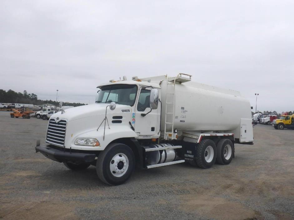 2004 Mack Vision Cx613 Tanker Truck
