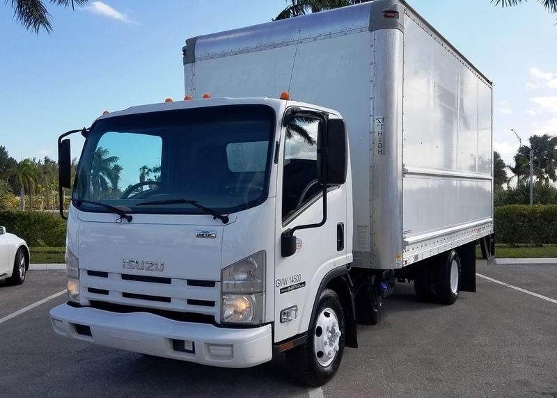 2012 Isuzu Trucks Npr Hd  Box Truck - Straight Truck
