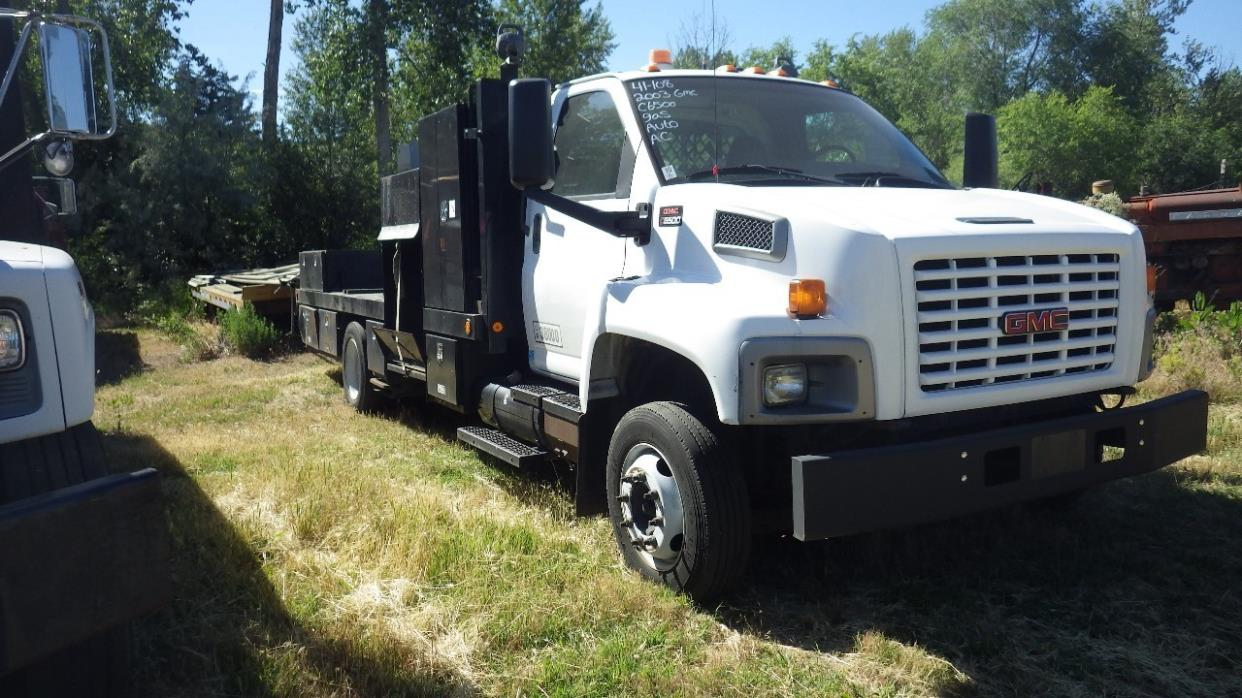 2003 Gmc C6500  Flatbed Truck