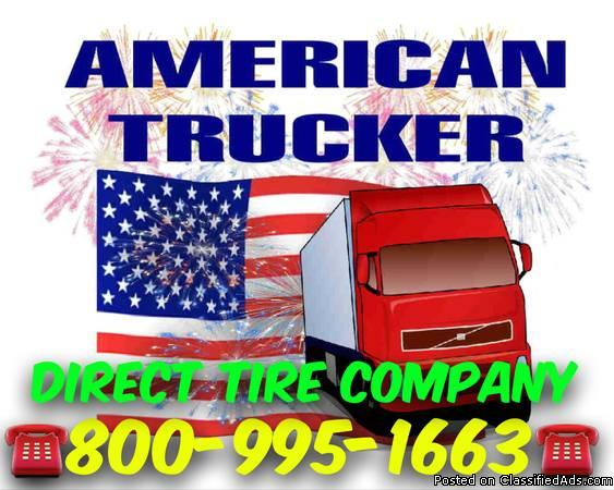 semi truck tire dimensions