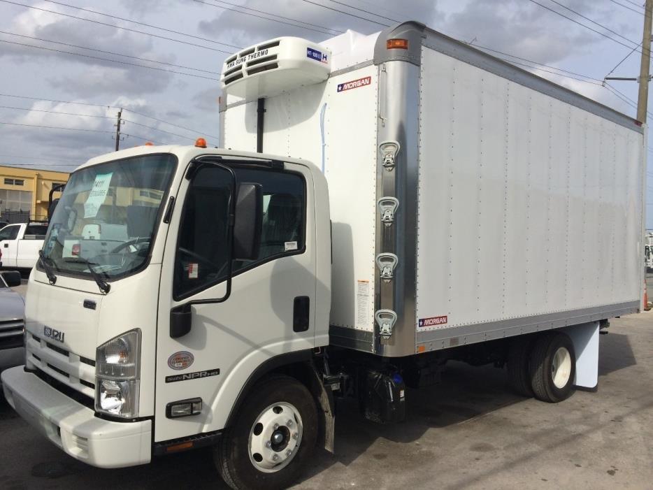 2017 Isuzu Npr Hd  Refrigerated Truck