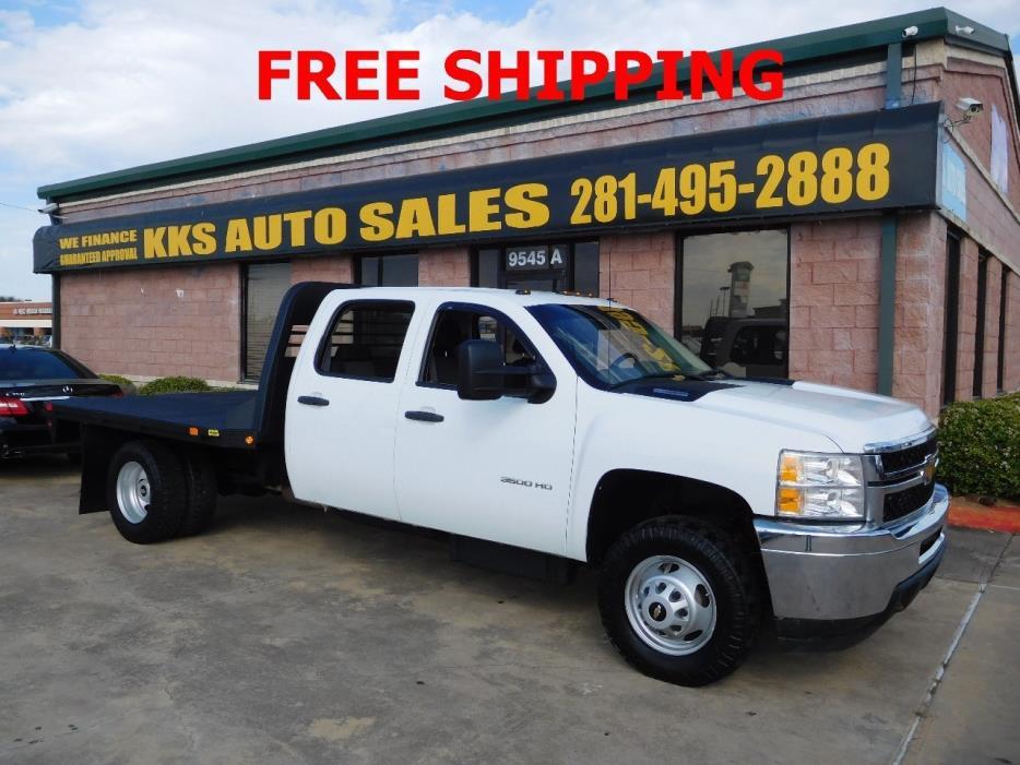 2013 Chevrolet Silverado 3500hd  Flatbed Truck