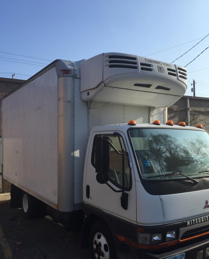 2004 Mitsubishi Fuso Fe649 Refrigerated Truck