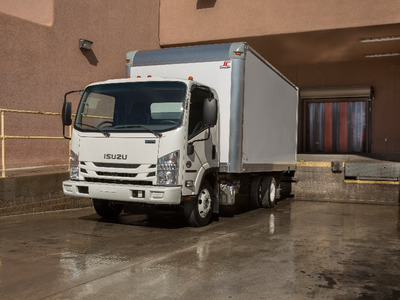 2015 Isuzu Trucks Diesel Npr-Hd  Box Truck - Straight Truck