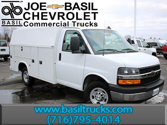 2017 Chevrolet Express 3500 Utility Truck - Service Truck