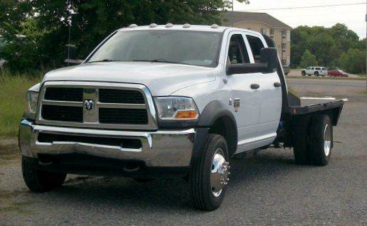 2012 Ram 4500  Flatbed Truck