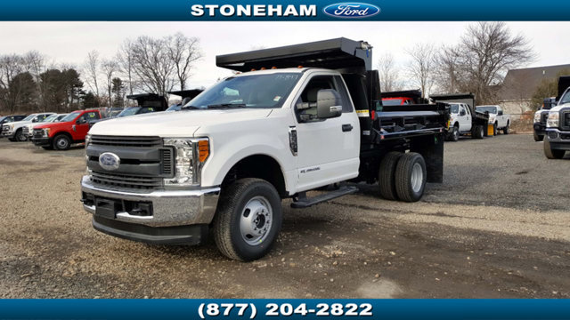 2017 Ford Super Duty F-350 Drw Cab-Chassis Dump Truck