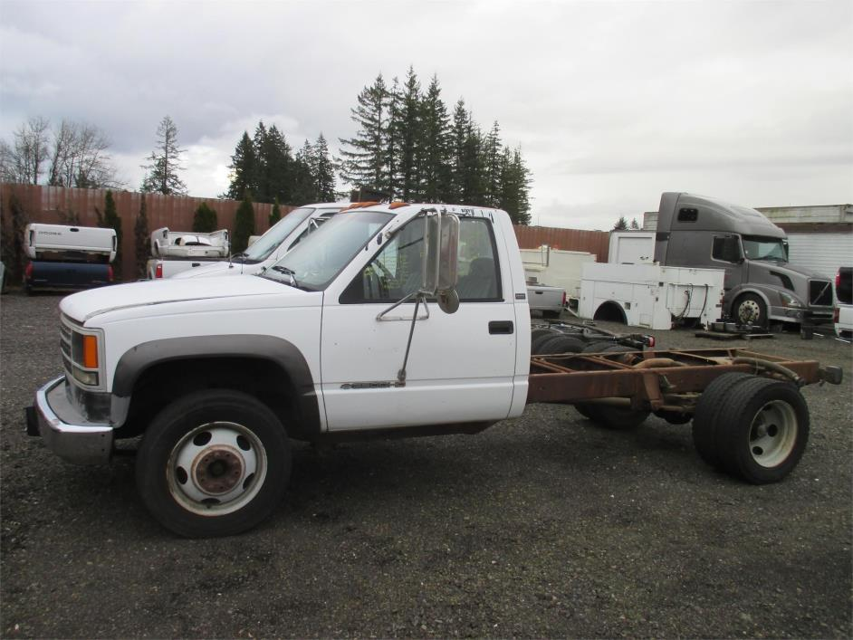 1992 Chevrolet 3500hd Cab Chassis