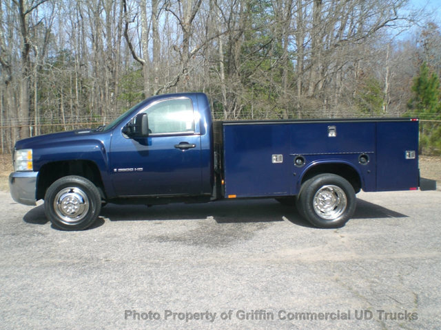 2009 Chevrolet 3500hd Drw 4x4 Utility Just 16k Miles Utility Truck - Service Truck