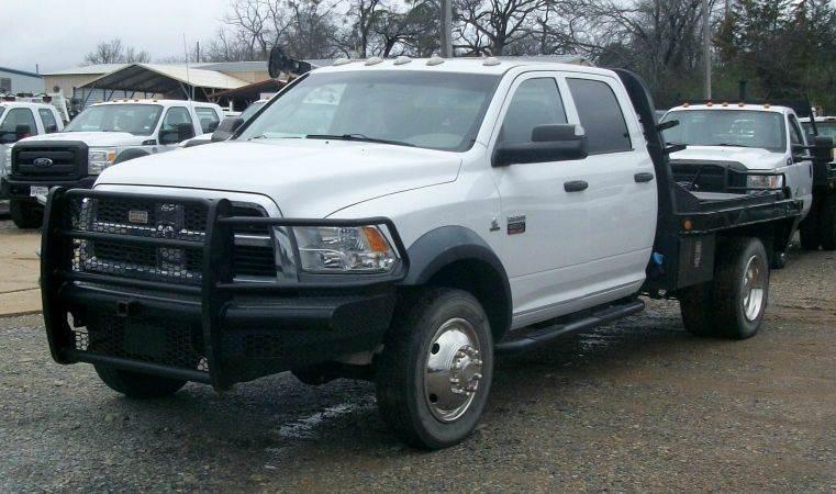 2012 Ram 4500 St  Flatbed Truck