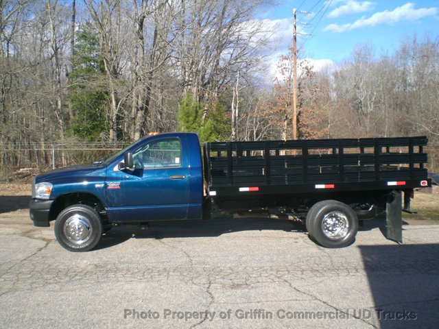 2009 Ram Ram 3500 Hd 12ft Rack Just 16k Miles One Owner  Flatbed Truck