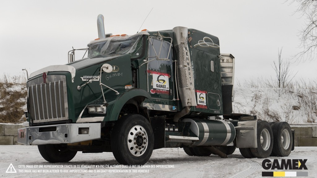 2011 Kenworth T800  Conventional - Sleeper Truck