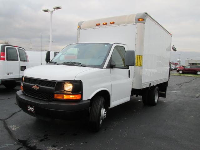 2012 Chevrolet Express 3500  Box Truck - Straight Truck