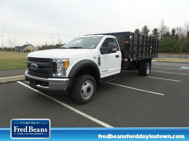 2017 Ford F550 Stake Bed