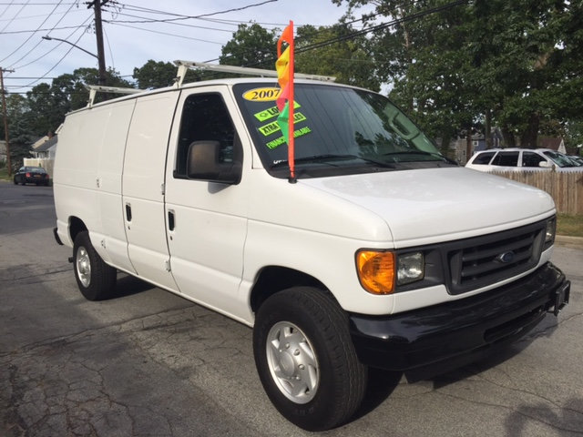 2007 Ford Econoline Cargo Van E250 3/4 Ton Shelves Bins Cargo Van