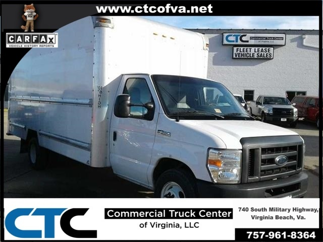 2012 Ford E-350sd Box Truck - Straight Truck