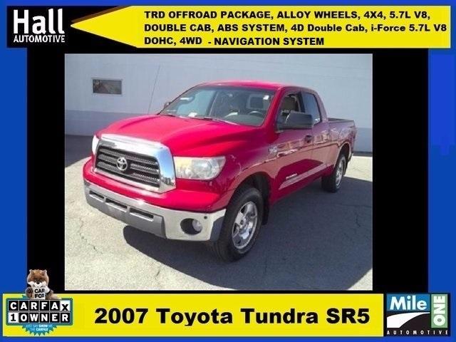2007 Toyota Tundra Pickup Truck