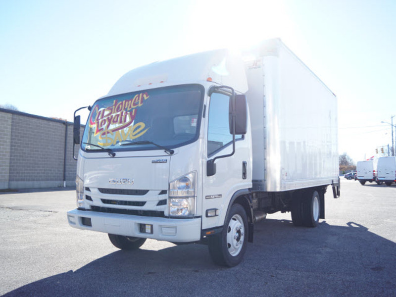 2016 Isuzu Trucks Diesel Npr-Hd  Box Truck - Straight Truck