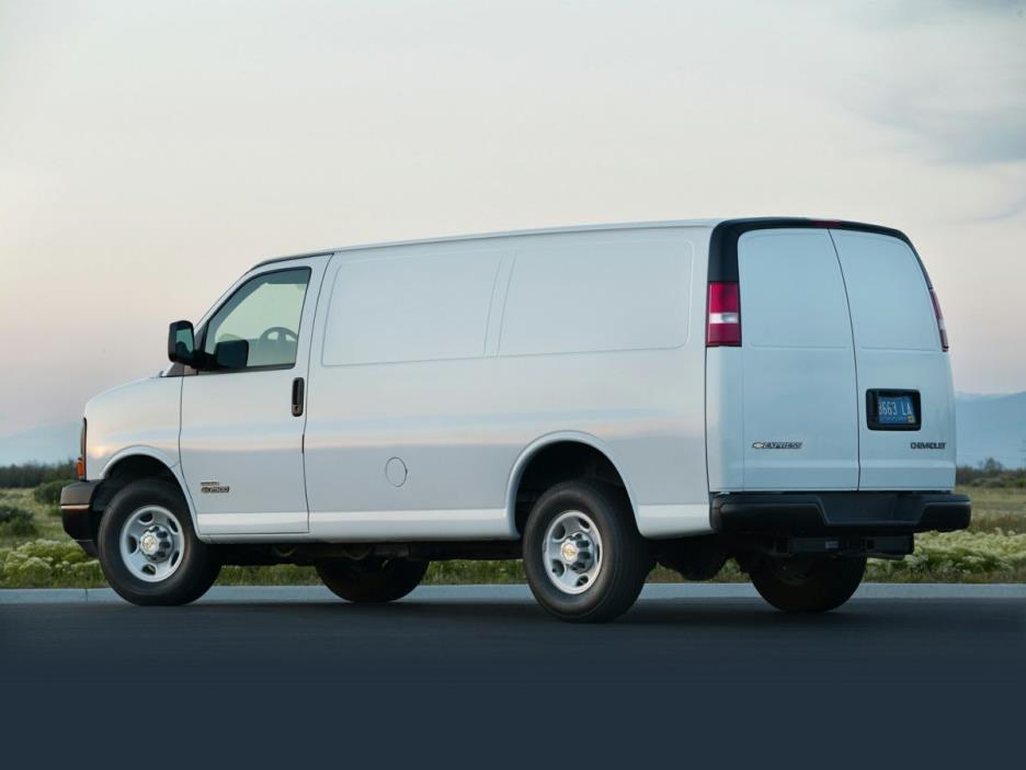 2017 Chevrolet Express 3500 Cargo Van