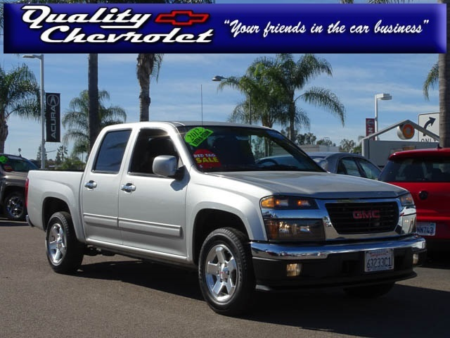 2012 Gmc Canyon Pickup Truck