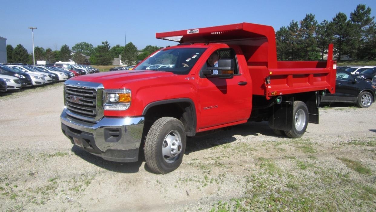 2017 Gmc Sierra 3500 Hd Dump Truck