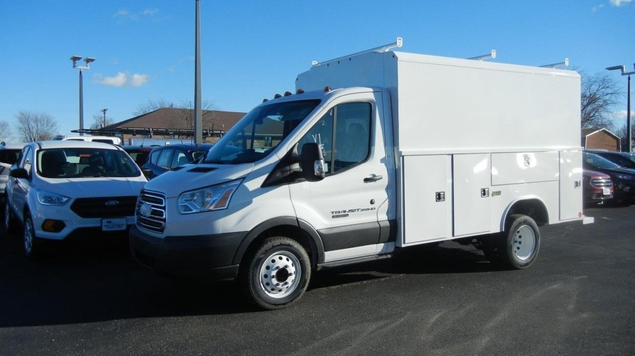 2017 Ford Transit Contractor Truck