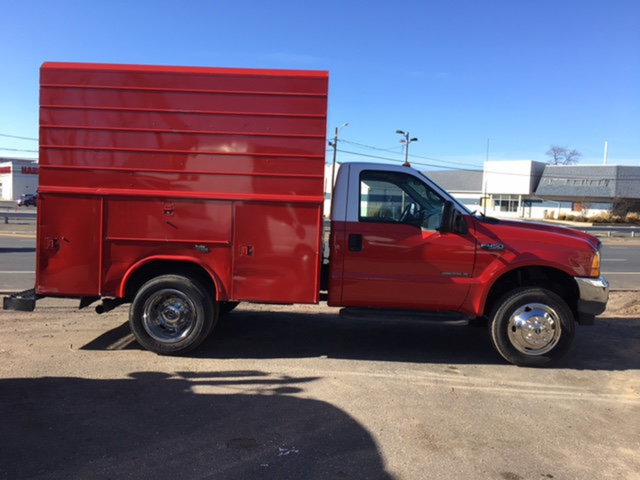 2001 Ford F450 Enclosed Utility Truck  Utility Truck - Service Truck