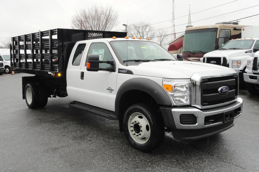 2016 Ford F550 Xl  Stake Bed