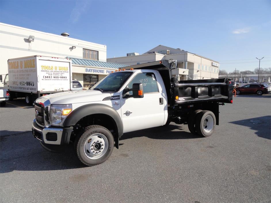 2016 Ford F450 Xl  Dump Truck