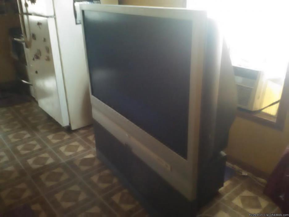 RCA Big Wide Screen Floor Model TV