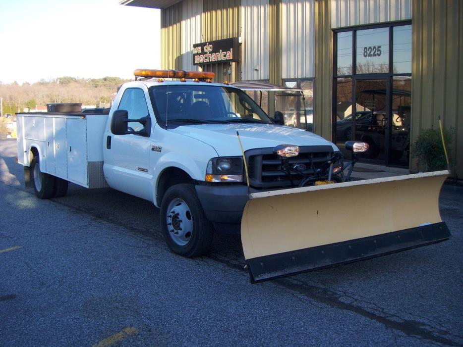 2004 Ford F550  Utility Truck - Service Truck