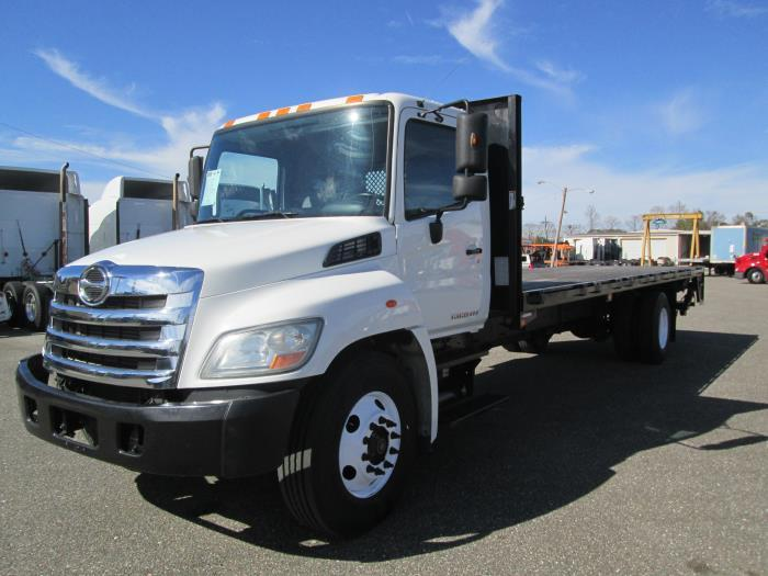 2012 Hino 338 Flatbed Truck