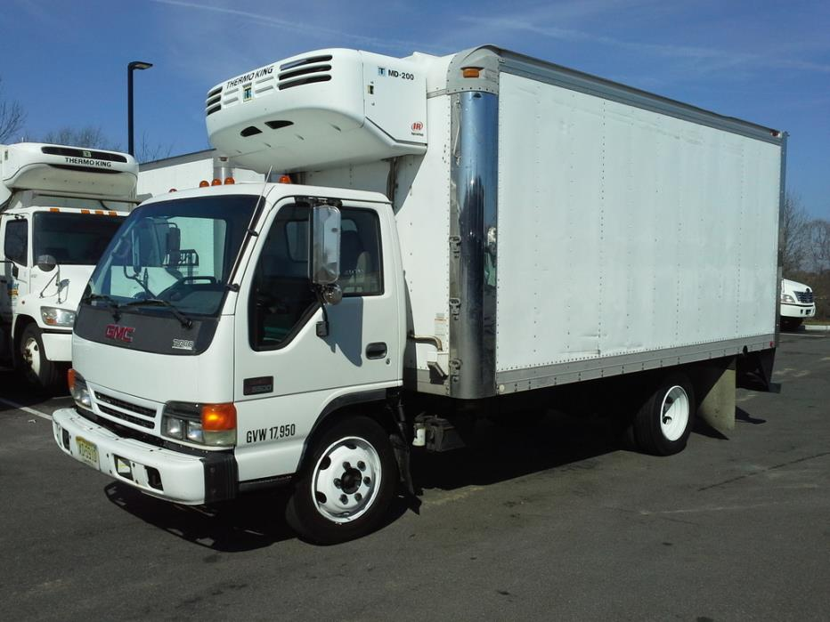2005 Gmc C5500 Refrigerated Truck