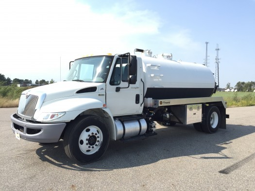 2012 International Durastar With Brand New Imperial Vacuum Tank  Vacuum Truck