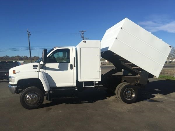 2009 Gmc C5500  Chipper Truck